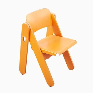 Folding Chair by Trix & Robert Haussmann for Dietiker, 1970s