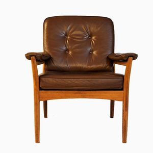 Swedish Armchair from Göte Möbler, 1969