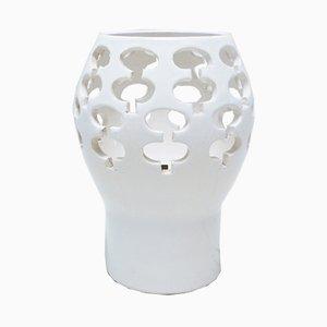 Lámpara de cerámica de Wisques Abbey, años 70