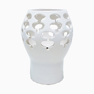 Pottery Lamp from Wisques Abbey, 1970s
