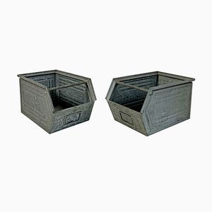 Industrial Storage Containers, 1960s, Set of 2