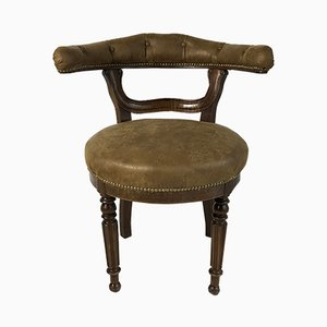 Antique Napoleon III Desk Chair