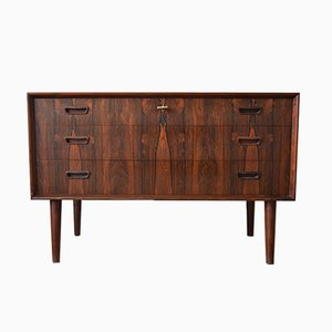 Danish Brazilian Rosewood Chest of Drawers, 1960s