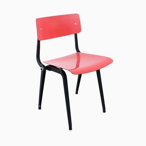 Folding Revolt Chair by Friso Kramer for Ahrend De Cirkel, 1950s