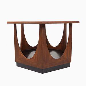 Tavolino da caffè esagonale di V.B. Wilkins per G-Plan, 1969