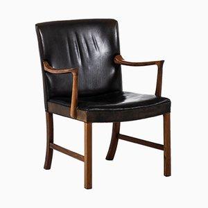 Model J 3063 Armchair by Ole Wanscher for A.J. Iversen, 1962