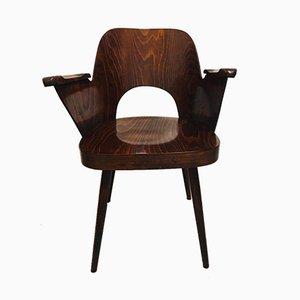 Sedia vintage di Oswald Haerdtl per TON, anni '50