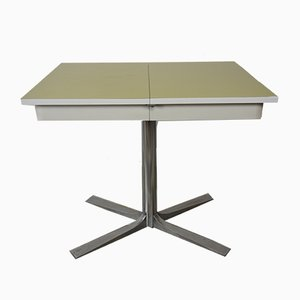 Metal & Formica Extendable Table, 1950s
