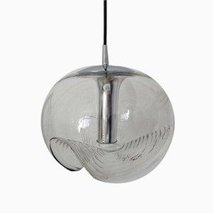 Lampe à Suspension Wave par Koch & Lowy pour Peill & Putzler, 1970s
