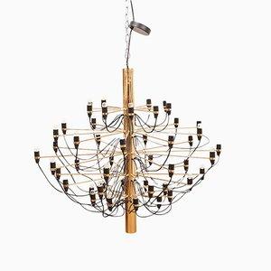 Lámpara de araña modelo 2097 de Gino Sarfatti para Flos, 1958