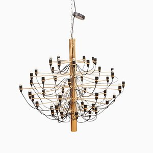 Modell 2097 Chandelier by Gino Sarfatti for Flos, 1958