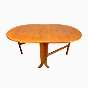 Vintage Teak Folding Gateleg Dining Table