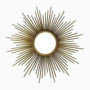 Espejo en forma de sol de Chaty Vallauris, años 50