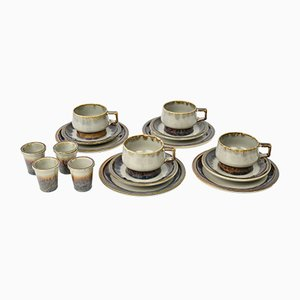 Model Mexico Stoneware Set from Bing and Grondal, 1960s