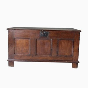 18th-Century Oak Coffer