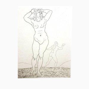 Grabado Ovid's Heroides de André Derain, 1938