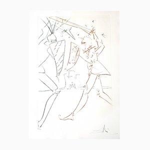 Gravure à l'Eau-Forte The Pass of Gadalore par Salvador Dali, 1975
