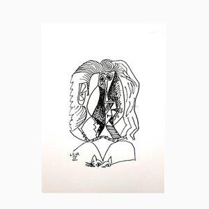 Le Goût de Bonheur Lithografie von Pablo Picasso, 1970