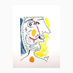 Lithographie Le Gôut du Bonheur par Pablo Picasso, 1970s
