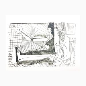 Lithographie Le Goût de Bonheur par Pablo Picasso, 1970