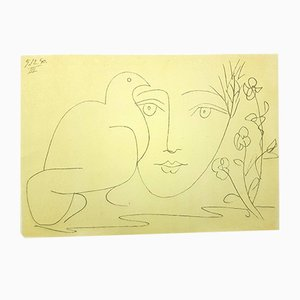 Face of Peace Lithograph by Pablo Picasso, 1951