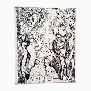 Gravure à l'Eau-Forte Nightclub par Kees Van Dongen, 1927