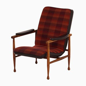 Modell 279 Sessel mit Gestell aus Teak von Topform, 1960er