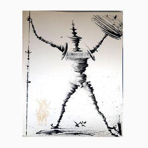 Lithographie Don Quixote par Salvador Dali, 1957