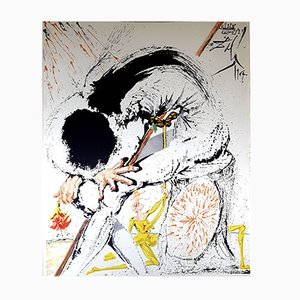 Don Quichotte Lithograph by Salvador Dali, 1957