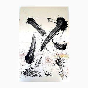 Litografia Don Chisciotte di Salvador Dali, 1957