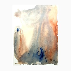 Litografía Biblia Sacra de Salvador Dalí, 1969