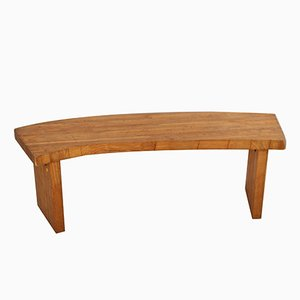 Vintage French Bench, 1960s