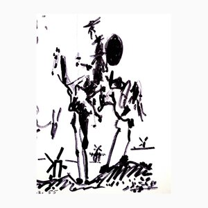 Don Quixote Lithograph by Pablo Picasso, 1955