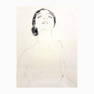 Woman Etching by Jean Gabriel Domergue, 1924