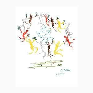 The Round of Friendship Lithographie von Pablo Picasso, 1961