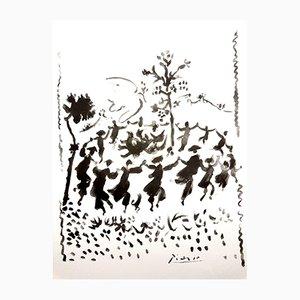 Lithographie Cercle de la Paix par Pablo Picasso, 1954