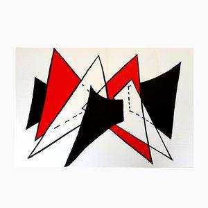 Lithograph by Alexander Calder, 1976