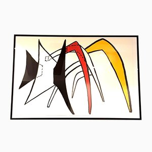Lithographie Derrière le Miroir par Alexander Calder, 1976