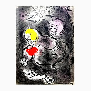 Originale The Bible Lithografie von Marc Chagall, 1956