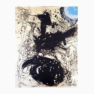 Litografia Don Quichotte originale di Salvador Dali, 1957