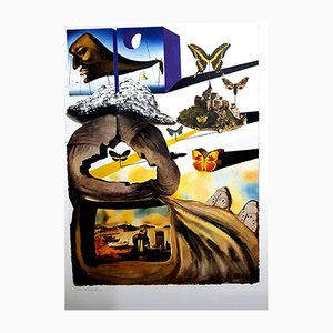 Normandie Lithographie von Salvador Dali, 1969