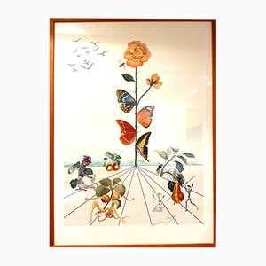 Lithographie Flordali II par Salvador Dali, 1981