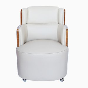 Club chair Art Deco, set di 2