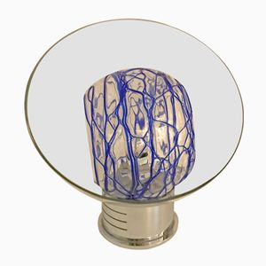Lampada da tavolo Mid-Century in vetro di Murano