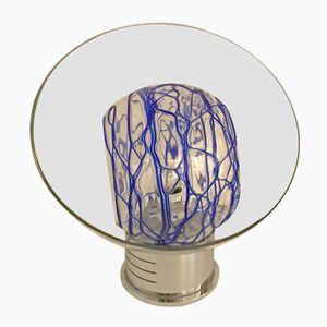 Lámpara de mesa Mid-Century de cristal de Murano