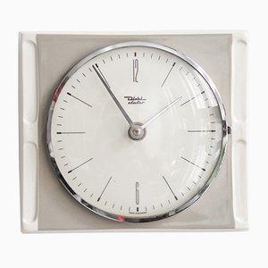 Reloj alemán vintage de cerámica de Diehl