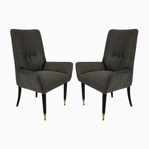 Vintage Italian Side Chairs, Set of 2