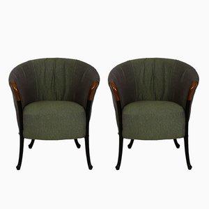 Progetti Sessel von Umberto Asnago für Giorgetti, 1980er, 2er Set