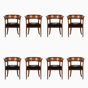 Antique Model 4395 Armchairs by Kaare Klint for Rud Rasmussen, Set of 8