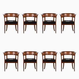 Fauteuils Modèle 4395 Antiques par Kaare Klint pour Rud Rasmussen, Set de 8